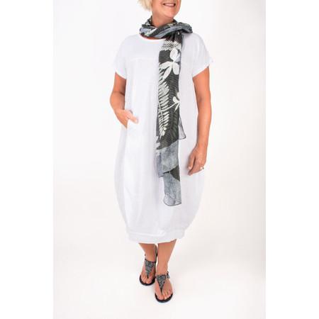 TOC  Dana Shortsleeve easyfit dress - White