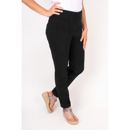 Robell Trousers Bella 78cm Slim Fit Trouser - Black