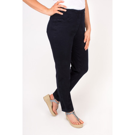 Robell Trousers Bella Slim Fit Jean - Blue