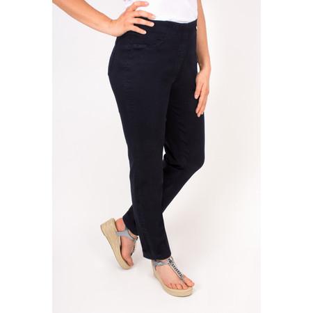 Robell Trousers Bella Slim Fit Full Length Jean - Blue