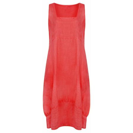 TOC  Demelza Linen Dress - Orange