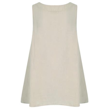 TOC  Becci Linen silk sleeveless top - Grey
