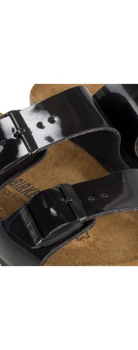 Birkenstock Arizona Patent Sandal Black
