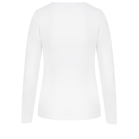 Great Plains Essentials Fitted Stretch Top - White