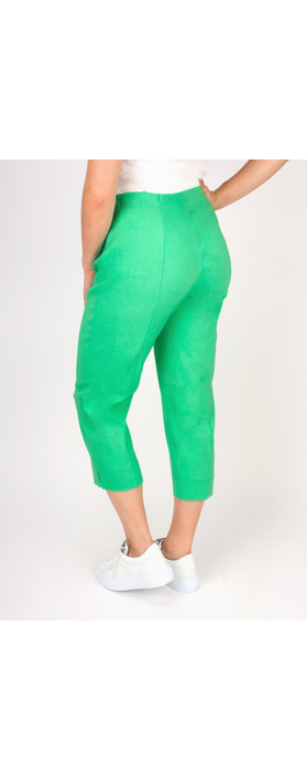 Robell Trousers Marie 07 Cropped Trouser Pistachio