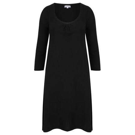 Gemini Woman Daryl Cotton Dress - Black