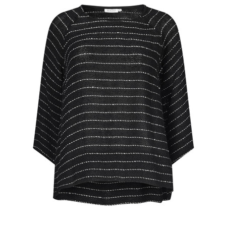 Masai Clothing Blooma Woven Top - Black