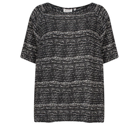 Masai Clothing Barna Oversized Top - Black
