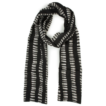 Masai Clothing Along Linear Scarf - Brown