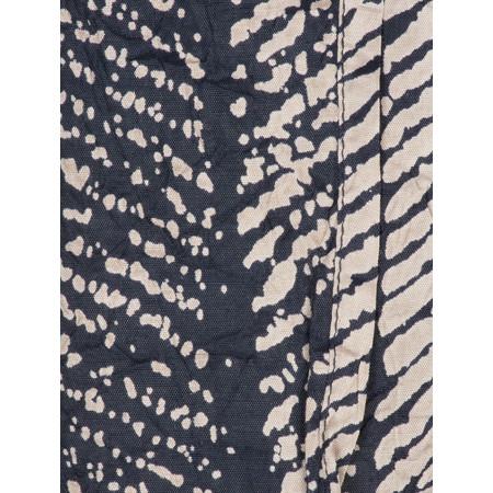 Masai Clothing Abstract Printed Along Scarf - Blue