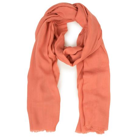 Masai Clothing Aya Coral Scarf - Orange
