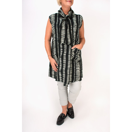 Masai Clothing Hena Linear Tunic - Brown