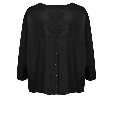 Masai Clothing Ines Oversized Wrinkled Blouse - Black