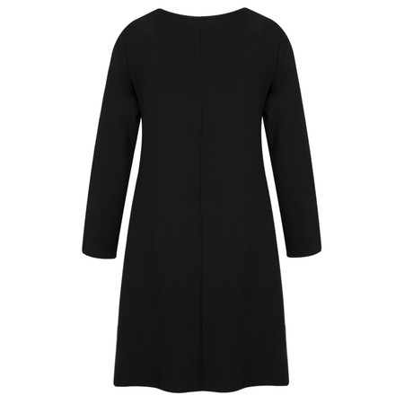 Masai Clothing Gottis A-shape Tunic Dress - Black