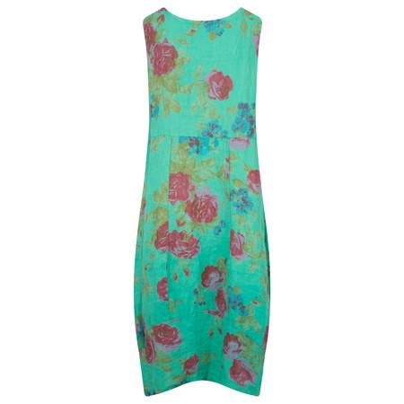TOC  Destiny Rose Easyfit Linen Dress - Blue