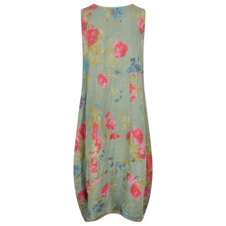 TOC  Destiny Rose Easyfit Linen Dress - Beige