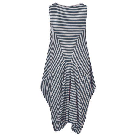 TOC  Dizzie EasyFit Stripe Dress - Blue
