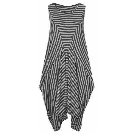 TOC  Dizzie EasyFit Stripe Dress - Black
