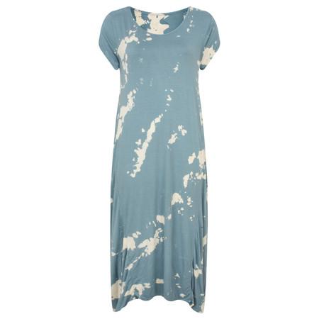 TOC  Dara Tie Dye Easyfit Jersey Dress - Blue