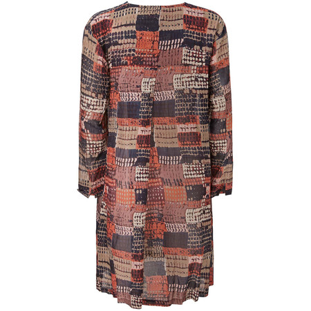 Masai Clothing Glenna Tunic - Orange