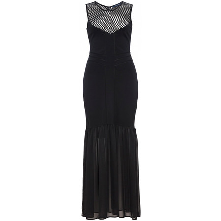 French Connection Chantilly Beau Jersey Maxi Dress - Black