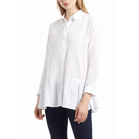 Great Plains Arabel Anglaise Shirt - White