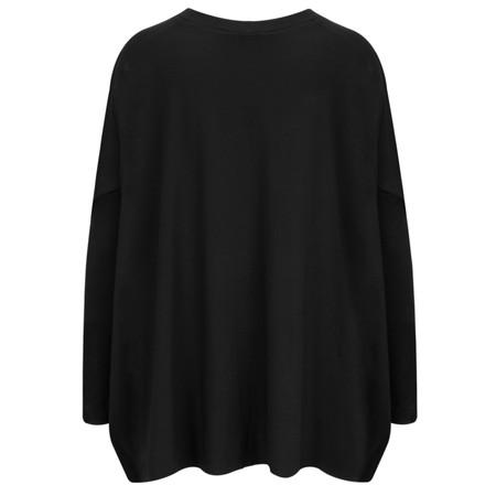Masai Clothing Blomsa Oversized Top - Black