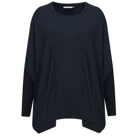 Masai Clothing Blomsa Oversized Top - Blue