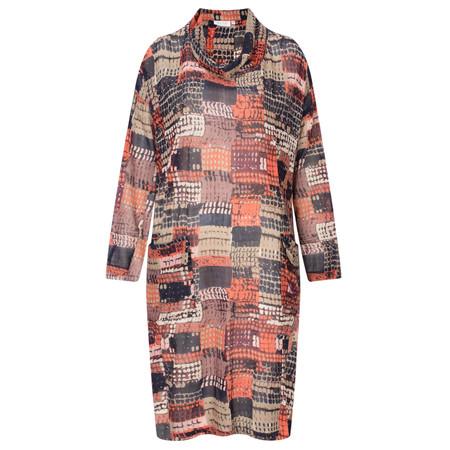 Masai Clothing Nina Oversized Dress - Orange