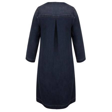 Sandwich Clothing Casual Denim Dress - Blue