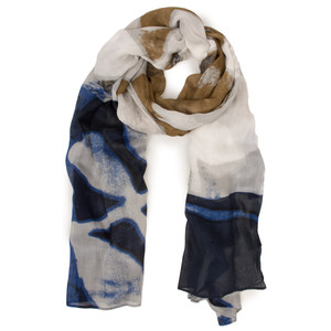 Sandwich Clothing Printed Weave Scarf