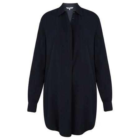 Sandwich Clothing Longline Flowy Shirt - Blue
