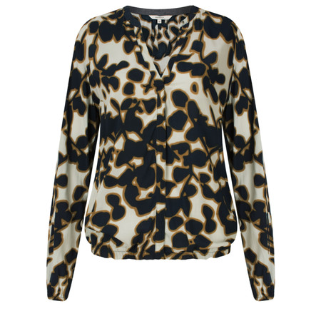 Sandwich Clothing Printed Long Sleeve Top - Blue