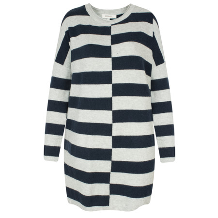 Sandwich Clothing Relaxed Striped Pullover - Blue