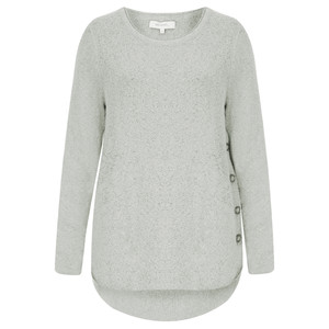 Sandwich Clothing Fluffy Wool Blend Pullover