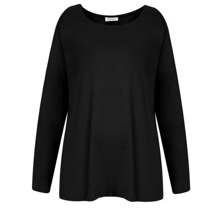 Masai Clothing Belona A-shape Top - Black