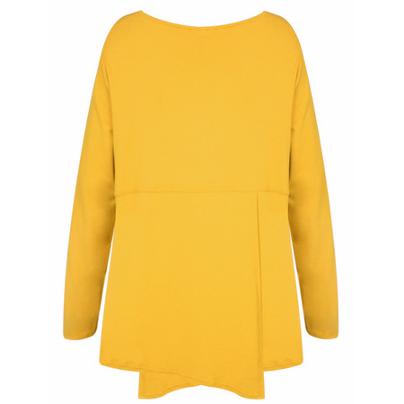 Masai Clothing Belona A-shape Top - Yellow
