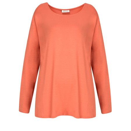Masai Clothing Belona A-shape Top - Orange