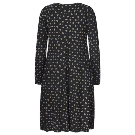 Masai Clothing Paisley Godivis Tunic Dress - Black