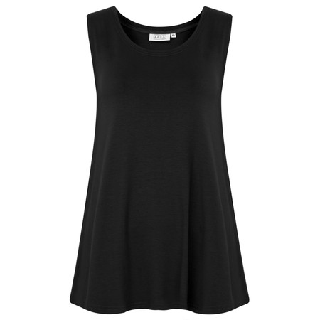 Masai Clothing Elisa A-Shape Top - Black