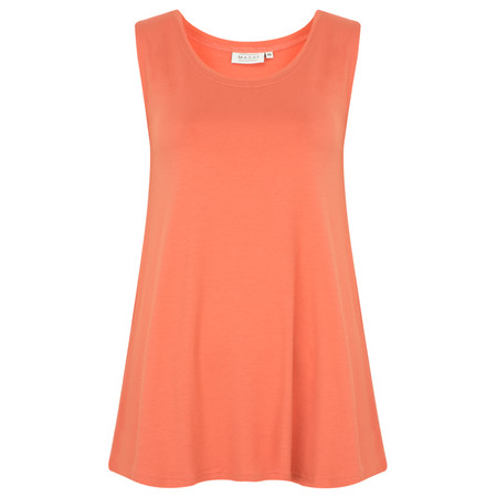 Masai Clothing Elisa A-Shape Top - Orange