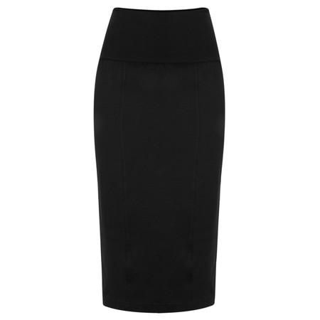 Masai Clothing Sunita Fitted Skirt  - Black