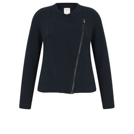 Sandwich Clothing Textured Jersey Jacket - Blue