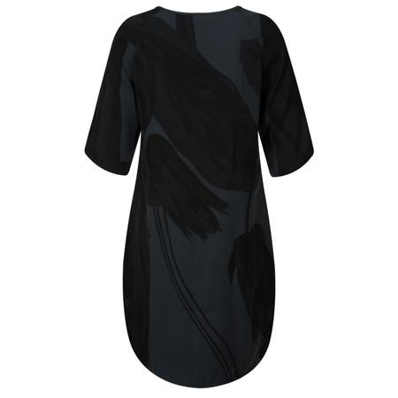 Yaya Flower Print Dress - Blue