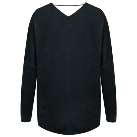 Yaya V Neck Sweater - Blue