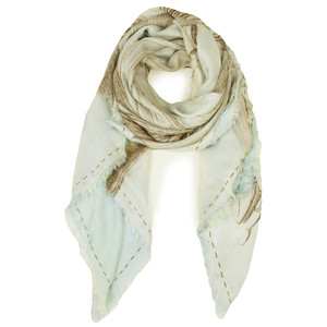Yaya Double Layer Flower Scarf