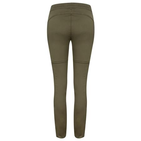 Yaya Oil Dye Trousers - Green