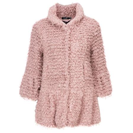Myrine Moet Teddy Coat - Purple