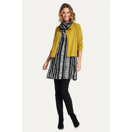 Masai Clothing Lovisa Cardigan  - Yellow