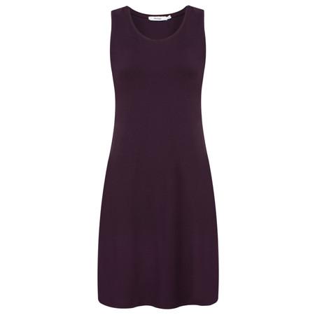 Myrine Ra Jersey Crepe Layer Dress - Purple